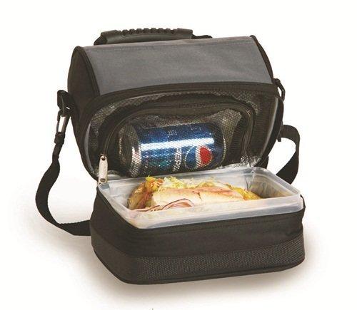 picnic-plus-columbus-lunch-tote-black-grey-10-x-7-x-8-picnic-plus-psm-238bg-by-picnic-plus