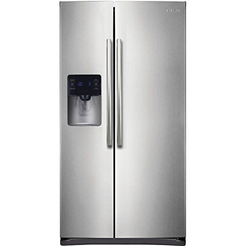 Samsung RS25H5111SR Energy Star 24.5 Cu. Ft. Side-by-Side Refrigerator/Freezer with External Water/Ice Dispenser and In-Door Ice Maker, Stainless Steel (Samsung Freeze compare prices)