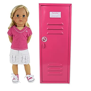 18 inch doll locker
