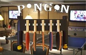 Amazon Com Pongon Wall Mount Table Tennis Ping Pong