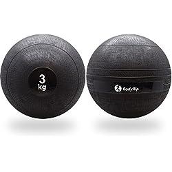 BodyRip [dy-gb-099] - Palla senza rimbalzo per attività di sollevamento pesi, arti marziali, boxe, fitness, crossfit, peso 3 kg