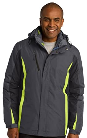 Buy Port Authority Mens Water Resistant 3 in 1 Jacket by Port Authority