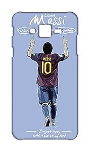 Lionel Messi Design Mobile case back cover for Samsung Galaxy J7 - Printed Designer Cover SGJ7MES27
