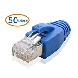 Cable Matters Cat6a RJ45 Modular Plugs