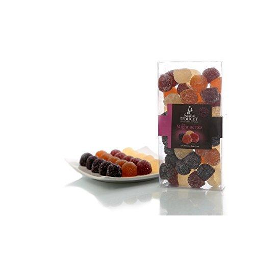 Francois Doucet - Mini French Fruit Paste (Pate de Fruit) 5 flavors 40pcs 7oz (200g) (Pate De Fruit compare prices)