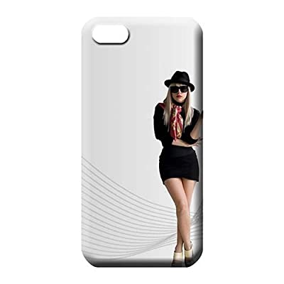 New Arrival Wonderful Cases Lady Gaga Phone Skins Covers Protection iPhone 5 / 5s / SE