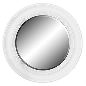 "Amazon.com - Framed Round Wall Mirror 26"" Diameter (Glossy ..."