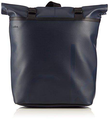 "Calvin Klein Jeans, Zaino ""Voyager 2"", Blu (BlackIris-Pt), 46 cm, 27 litri"