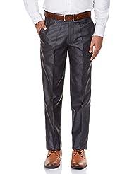 GHPC Men's Plain Regular Fit Formal Trouser (FT1143-$P)