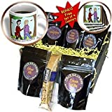 Rich Diesslins Funny Religious Light Cartoons - Test of Faith at Seminary in the Form of Student Loans - Coffee Gift Baskets - Coffee Gift Basket