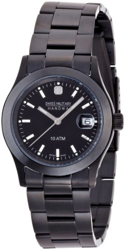 [スイスミリタリー]SWISS MILITARY 腕時計 エレガントブラック ML-132 メンズ [正規輸入品]