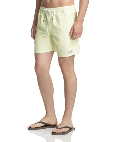 Rhythm Men's Solid Jam Swim Trunk Shorts