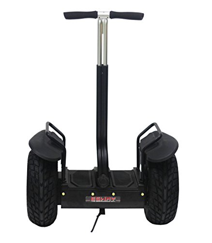Chafon Es01 2014 New Cross-Country Type Personal Transporter-2 Wheels Self Balancing Electric Standing Up Scooter/Motorcycle/Ebike-Outdoor Sports Kids Adult Transporter With Led Light And Power Display Perfectly Suitable For Night Riding Amateur (Black)