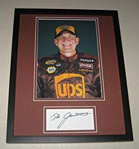 Dale Jarrett Autographed Photograph - UPS Car Framed 11x14 Display - Autographed... by Sports Memorabilia