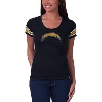 NFL San Diego Chargers Ladies Off Campus Scoop Neck Tee by