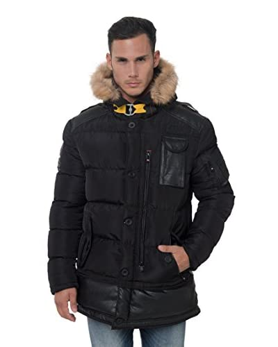 Geographical Norway Steppjacke Bendorfmen schwarz
