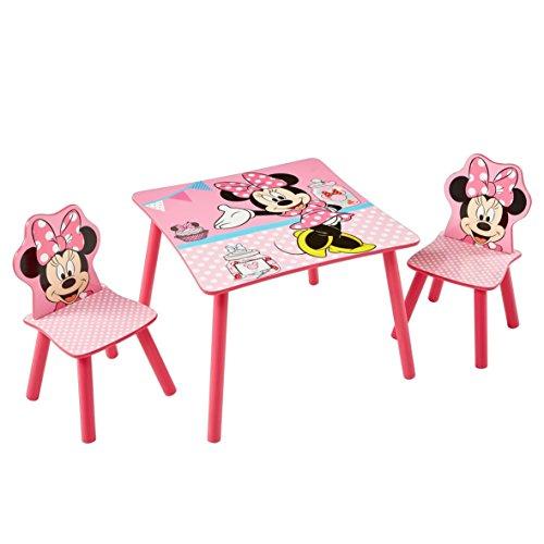 Kinder-Spieltisch-Maltisch-Minnie-Mouse-Rosa