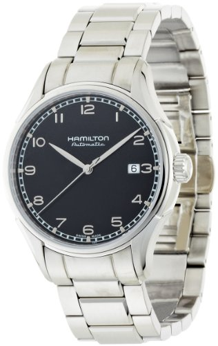 Hamilton Men's H39515133 Valiant Black Dial Watch