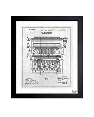 Oliver Gal Type Writing Machine 1899 Framed Art