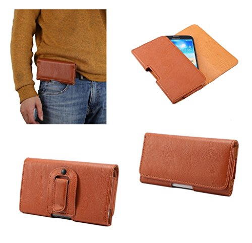 dfv-mobile-case-synthetic-leather-horizontal-belt-clip-for-zte-boost-max-brown