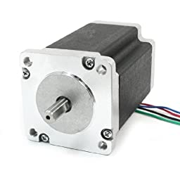 Nema 24 4 Wire 1.8 Degree CNC Stepping Stepper Motor 90mm 4A 368oz.in