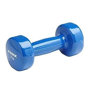York Haltère 3kg Bleue