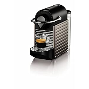 Nespresso Pixie Espresso Maker, Electric Titan $163