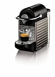 Nespresso C60-US-TI-NE Pixie Espresso Maker, Electric Titan