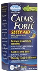 Calms Forte 100 Tablets by Hylands