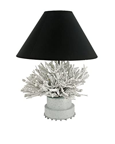 Table Lamp, Black/White