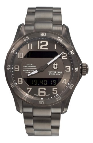 Victorinox Swiss Army Men&#8217;s 241300 Dive Master Gunmetal Dial Watch