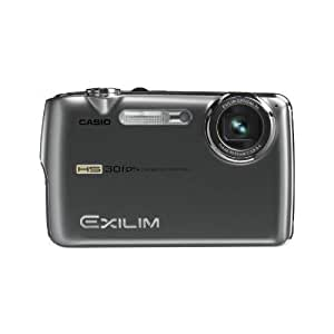 Casio Exilim EX-FS10 Digital Camera - Metallic Grey (9.1MP, 3x Internal Optical Zoom) 2.5 inch LCD