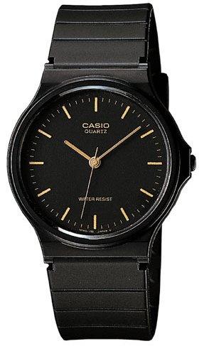 [カシオ]CASIO 腕時計 スタンダード アナログウォッチ MQ-24-1E ブラック メンズ[逆輸入]