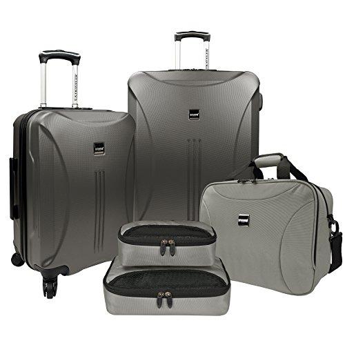 travelers-choice-us-traveler-skyscraper-5-piece-hardside-spinner-luggage-set-iron-grey-one-size