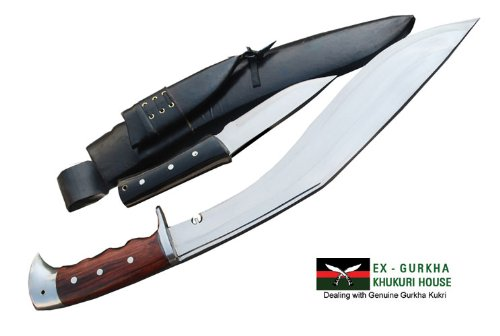 """16"""" Blade American Eagle EUK Kukri - Gurkha Khukuri or Khukris Knife - Handmade By Ex Gurkha Khukuri House in"""