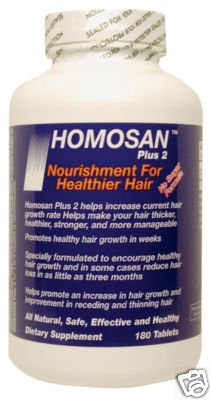 Homosan Plus-2 Hair Regrowth-stop Hair Loss,thinning,baldness