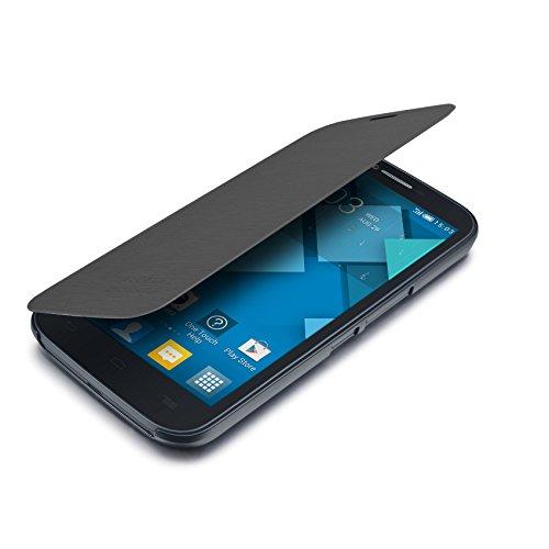Alcatel Custodia Flip per One Touch Pop C9, Grigio Ardesia