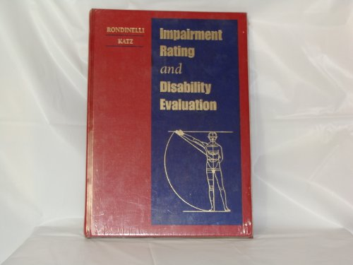 Impairment Rating And Disability Evaluation, 1E