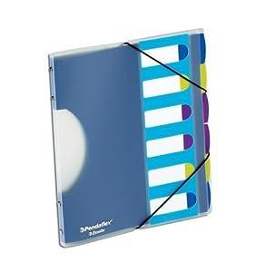 Pendaflex Pilesmart Project File Sorter - Letter Size - Color Coded - 6 Tabs