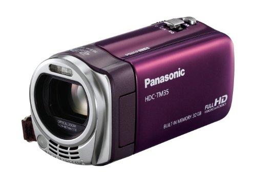 Panasonicデジタルハイビジョンビデオカメラ バイオレット HDC-TM35-V