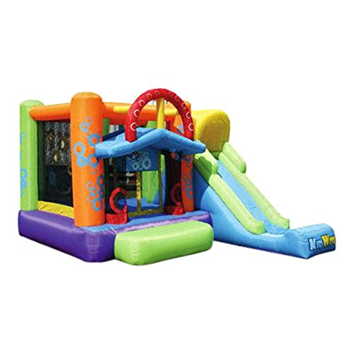 Kidwise Double Shot Bouncer - Inflatable Bounce House front-350920