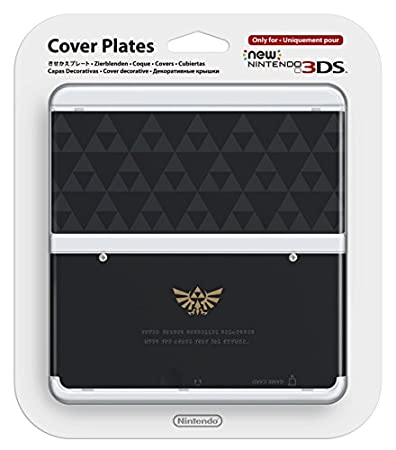 Nintendo - Cubierta 24, Diseño Zelda Triforce (New Nintendo 3DS)