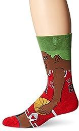 Stance Men\'s NBA Legends Crew Socks, Rodman, Large/Shoe Size 9-12