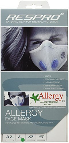 RESPRO-allergy-model-ultralight-polyester-aero-allergy-mask-White-L-by-Respro