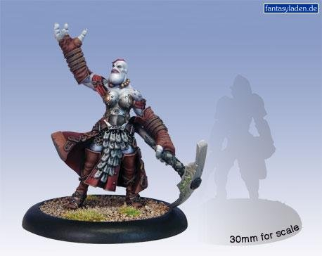 Privateer Press - Hordes - Trollblood: Janissa Stonetide Model Kit