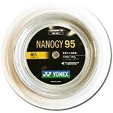 ヨネックス(YONEX) ナノジー95(200m) NBG95-2 024 シルバーグレー