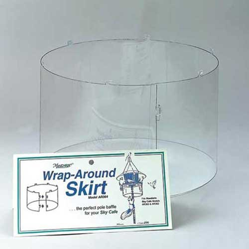 New Arundale Wrap Around Skirt Simple Highly Effective Crystal Clear Squirrel Guard High Quality