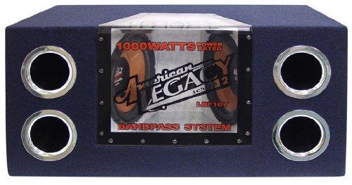 Legacy LBF107 Dual 10-Inch 1000 Watt Bandpass Subwoofer System