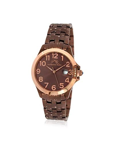 Porsamo Bleu Women's 984BOLS Olivia Brown Stainless Steel Watch