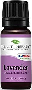 Plant Therapy Lavender Essential Oil. 100% Pure, Undiluted, Therapeutic Grade. 10 ml (1/3 oz).